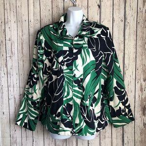 2 for $40 Susan Graver tropical  blazer Large